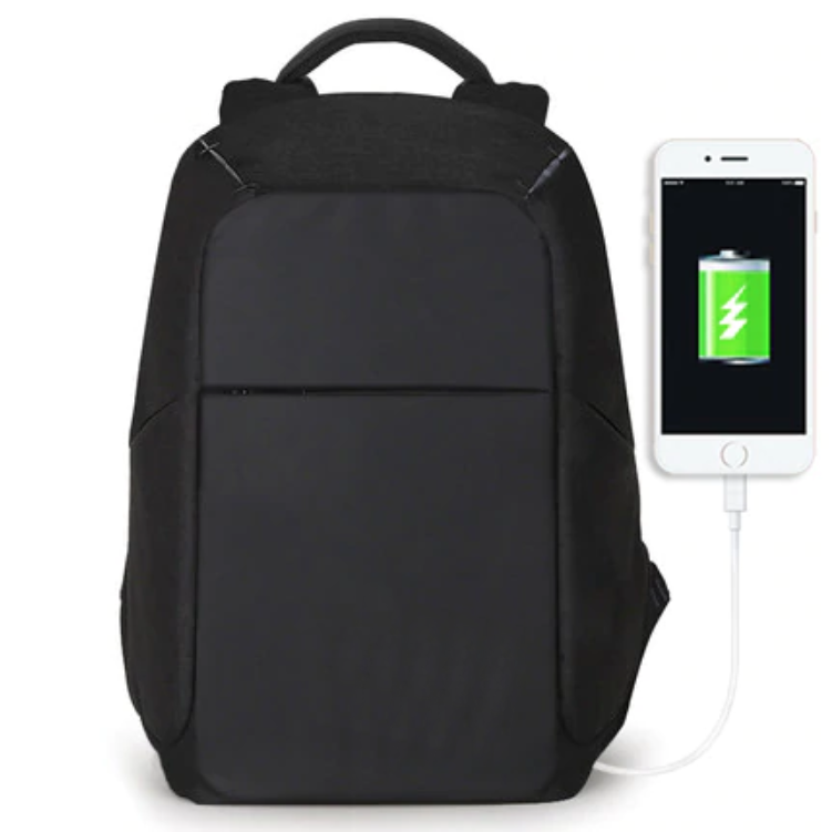 Multifunctional USB Charger 15-inch Laptop Carrier Backpack For Men