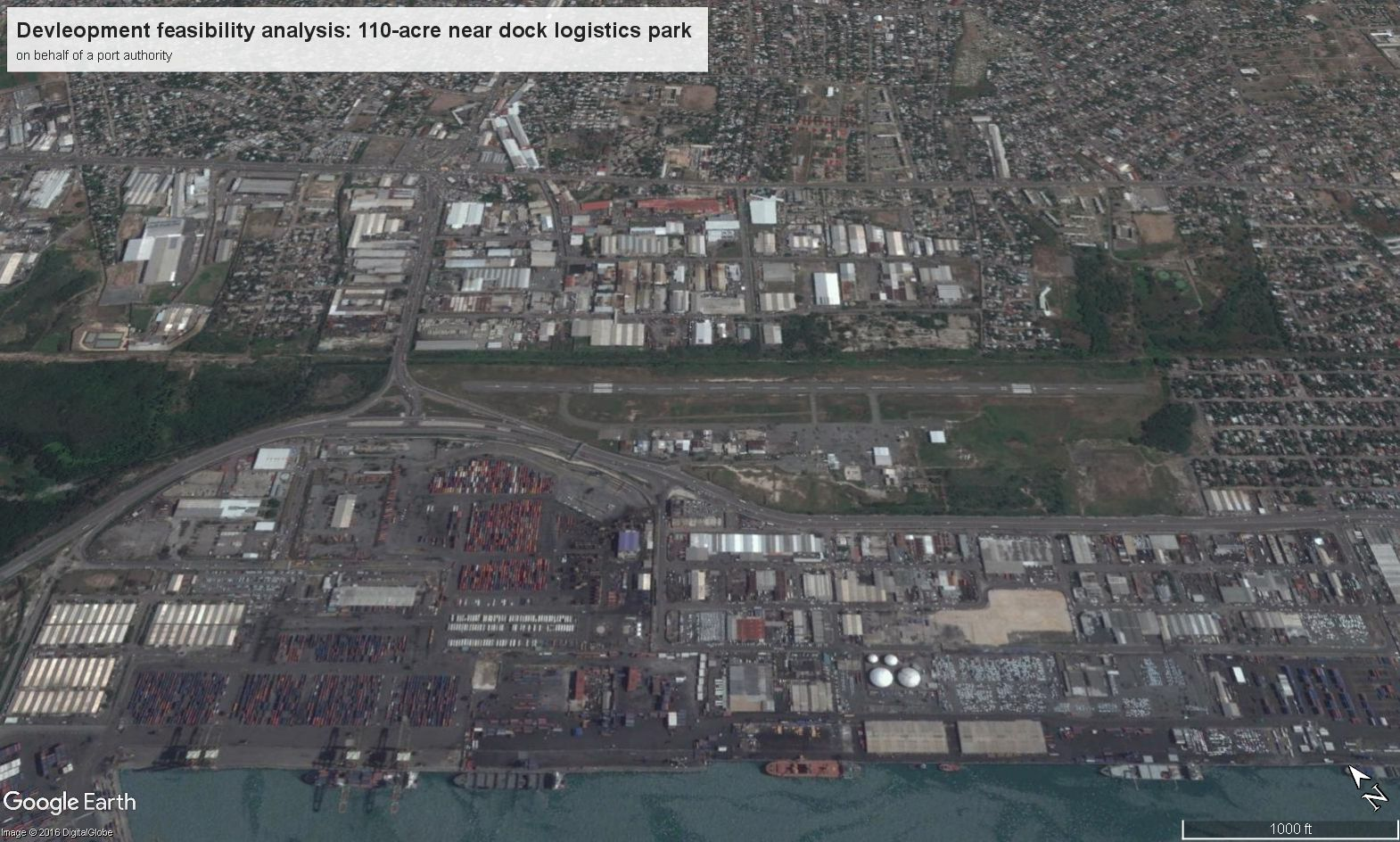 Port Related Logistics Park Development Feasibility Analysis